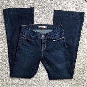 J brands love story low rise bootcut jeans size 27